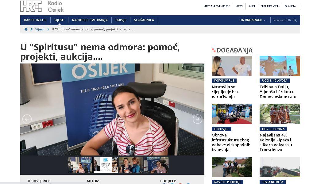 """HRT Radio Osijek: U """"Spiritusu"""" nema odmora: pomoć, projekti, aukcija…."""